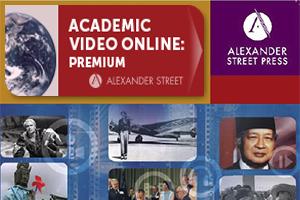 [직접접속] AVON(Academic Video Online)