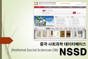 [직접접속] NSSD (National Social Sciences DB)
